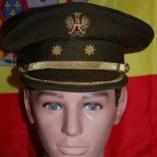 Militaria: GORRA PLATO TENIENTE CORONEL EJERCITO TIERRA EPOCA DE FRANCO. Lote 194634860