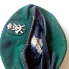 Militaria: BOINA VERDE EJÉRCITO ESPAÑOL. Lote 194671465
