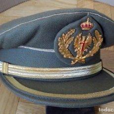 Militaria: GORRA DE PLATO MILITAR. EJÉRCITO TIERRA. INDUYCO S.A: MADRID.. Lote 194704396