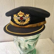 Militaria: GORRA DE PLATO CAPITAN EJERCITO DEL AIRE.. Lote 194735250