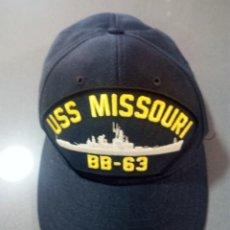 Militaria: BEISBOLERA ACORAZADO MISSOURI BB-63.CLASE WISCONSIN.. Lote 194858798