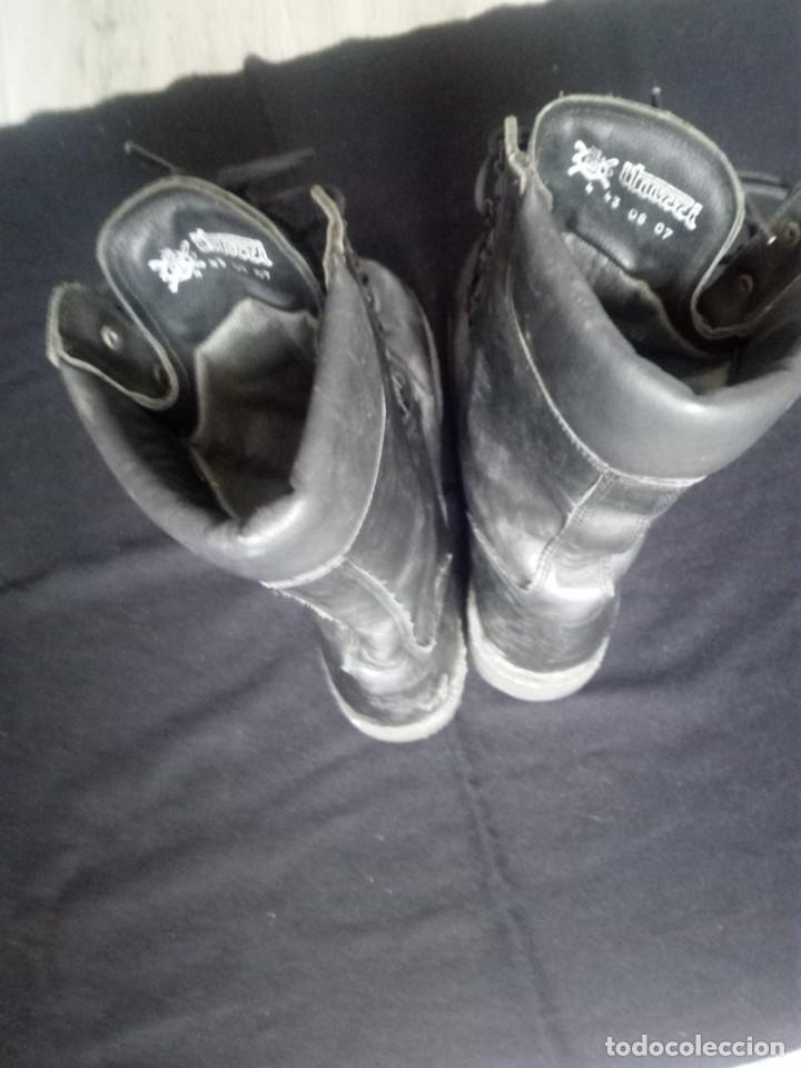 Militaria: Botas de salto EZAPAC.Talla 43.iturri.poquisimo uso. - Foto 2 - 194862336