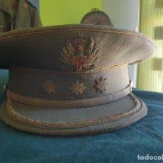 Militaria: GORRA DE PLATO DE UN CORONEL DEL EJÉRCITO ESPAÑOL. CON NOMBRE DEL CORONEL EN EL INTERIOR. Lote 195006915