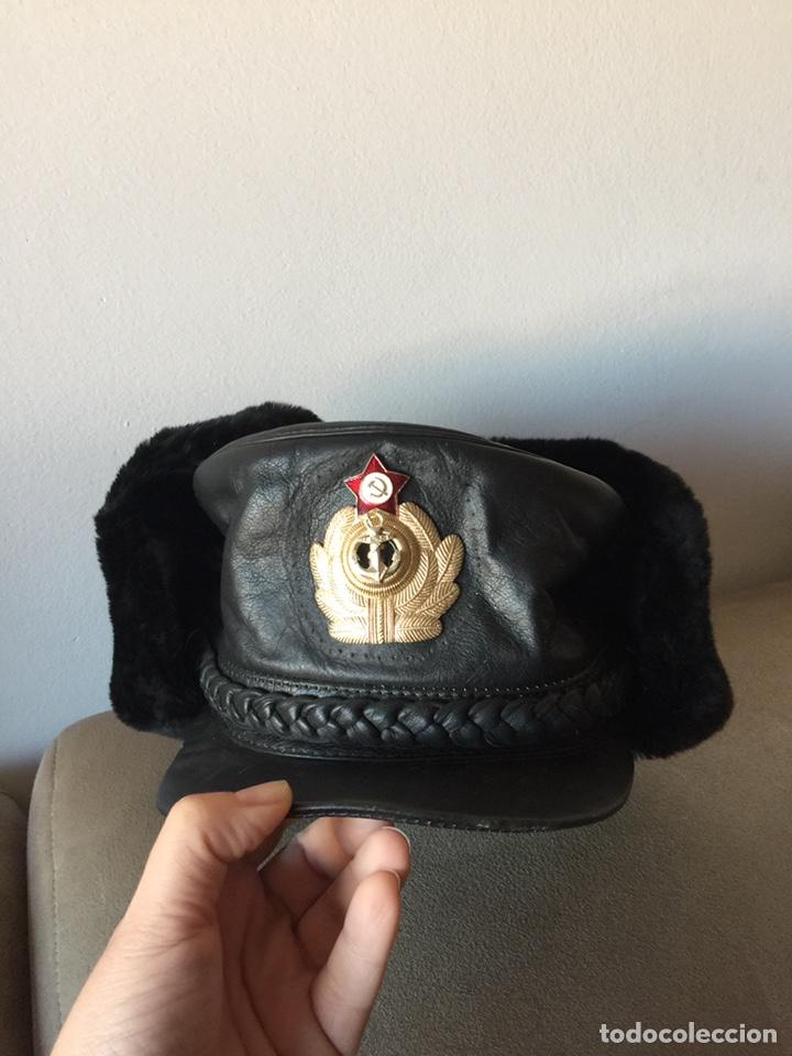 Militaria: Gorro ruso negro de piel. A estrenar. - Foto 2 - 195016770