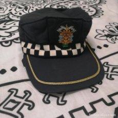 Militaria: GORRA BASSE BALL SUBINSPECTOR GRUPO SEGURIDAD POLICÍA LOCAL MELILLA, TALLA M. Lote 195096028