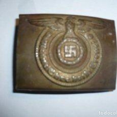 Militaria: HEBILLA PARA SUBOFICIALES DE LA WAFFEN -SS -LEYENDA MI HONOR ES MI LEALTAD-- 2 GUERRA MUNDIAL. Lote 195151151