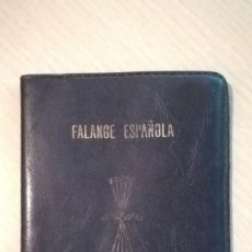 Militaria: CARTERA DE FALANGE ESPAÑOLA DE LAS J.O.N.S.. Lote 195153177