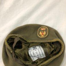 Militaria: BOINA EJERCITO DE TIERRA. NUEVA. AÑO 1991. Lote 195159055