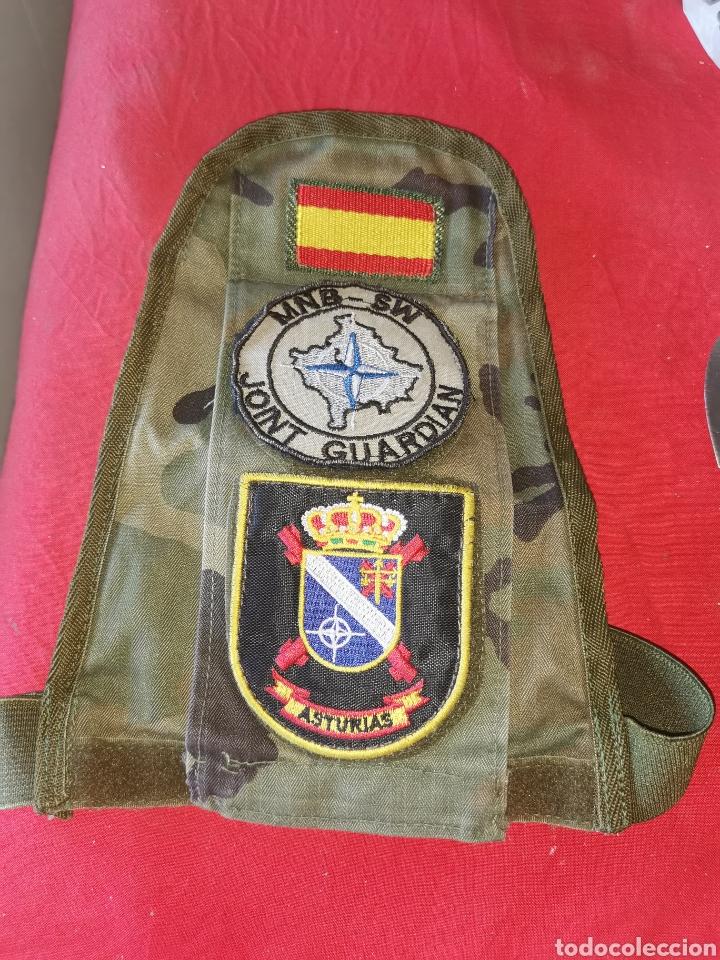 BRAZALETE SOLDADO ESPAÑOL. ASTURIAS. KOSOVO 1999 (Militar - Otros relacionados con uniformes )