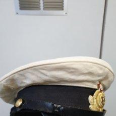 Militaria: GORRA MARINE OFICIAL RUSO-SOVIETICO ANOS 50-60. Lote 195189217