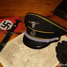 Militaria: GORRA DE PLATO SS, DE LA ALEMANIA NAZI. Lote 195199843
