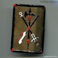 Militaria: HEBILLA DE LA LEGIÓN. MODELO DE LA GUERRA CIVIL. PINTADA PARA GASTADORES.. Lote 195206313