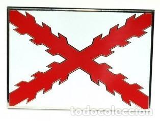 HEBILLA DE CINTURÓN CRUZ DE SAN ANDRÉS (Militar - Cinturones y Hebillas )