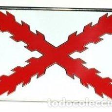 Militaria: HEBILLA DE CINTURÓN CRUZ DE SAN ANDRÉS. Lote 195292665
