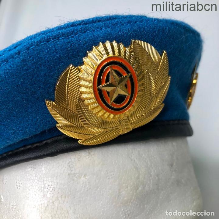 Militaria: Rusia. Federación Rusa. Boina de Tropas Paracaidistas. - Foto 2 - 195324245