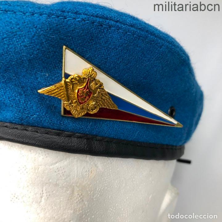 Militaria: Rusia. Federación Rusa. Boina de Tropas Paracaidistas. - Foto 4 - 195324245