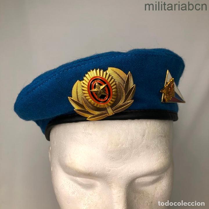 RUSIA. FEDERACIÓN RUSA. BOINA DE TROPAS PARACAIDISTAS. (Militar - Boinas y Gorras )