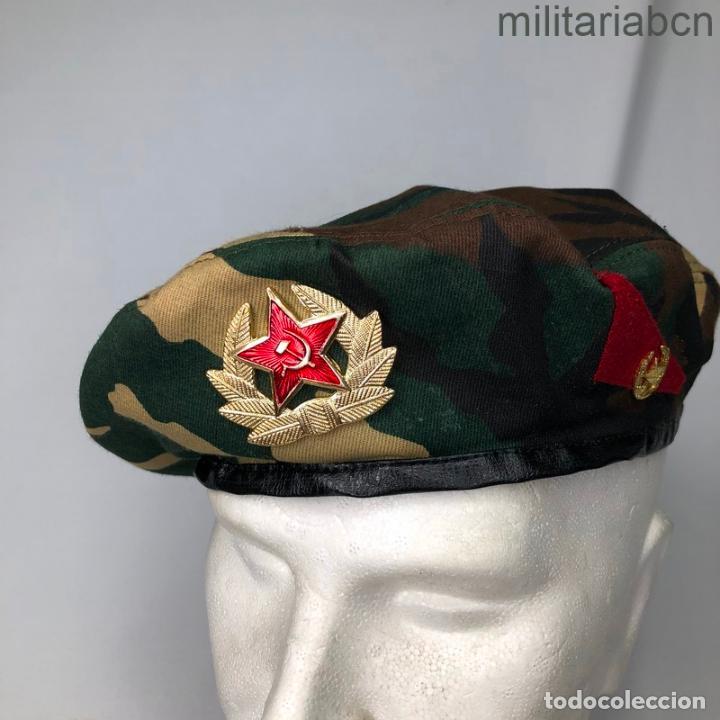 RUSIA. FEDERACIÓN RUSA. BOINA DE SPETSNATZ. (Militar - Boinas y Gorras )
