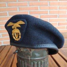 Militaria: BOINA BRIGADA PARACAIDISTA TALLA 56 NUEVA. Lote 195345221
