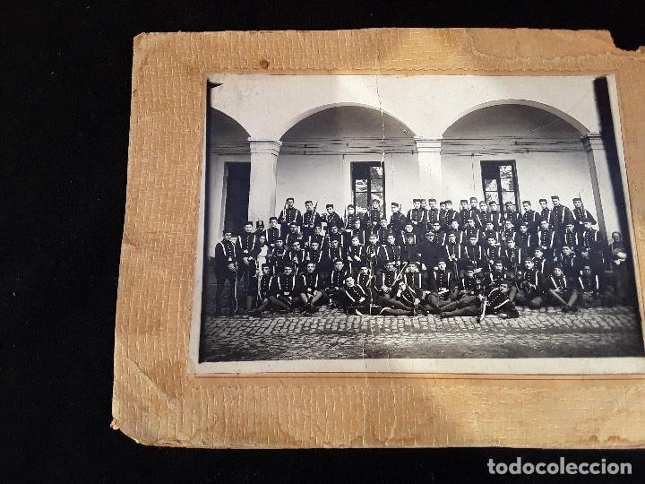 Militaria: ANTIGUO GORRILLO PANADERO DE ALFONSO XIII,INTERIOR FORRO DE CUERO,ORIGINAL,GUERRA AFRICA - Foto 24 - 195366707