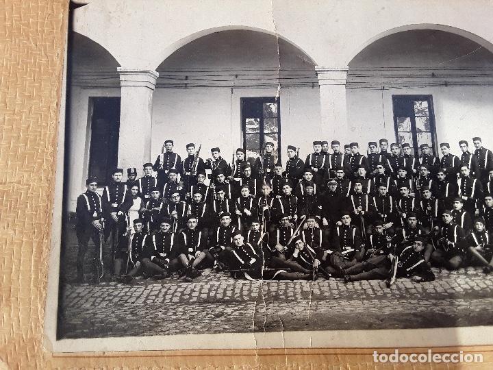 Militaria: ANTIGUO GORRILLO PANADERO DE ALFONSO XIII,INTERIOR FORRO DE CUERO,ORIGINAL,GUERRA AFRICA - Foto 25 - 195366707