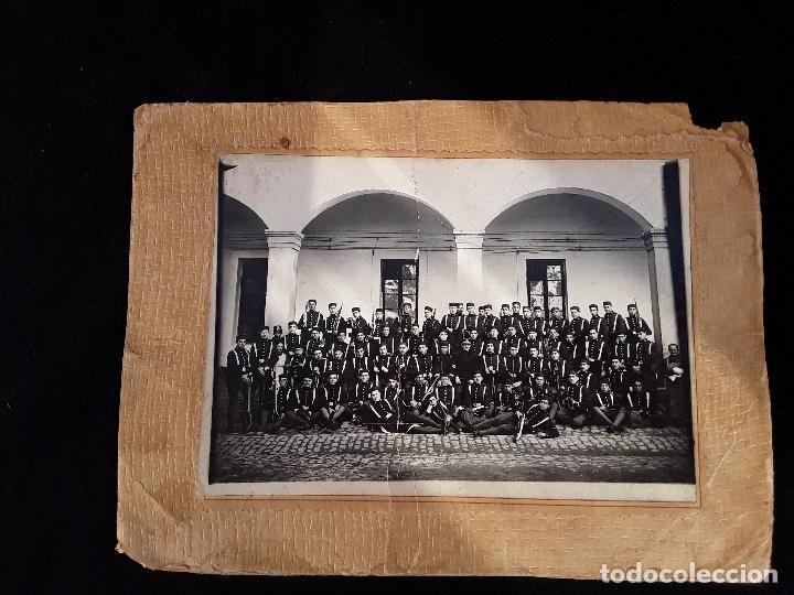 Militaria: ANTIGUO GORRILLO PANADERO DE ALFONSO XIII,INTERIOR FORRO DE CUERO,ORIGINAL,GUERRA AFRICA - Foto 27 - 195366707