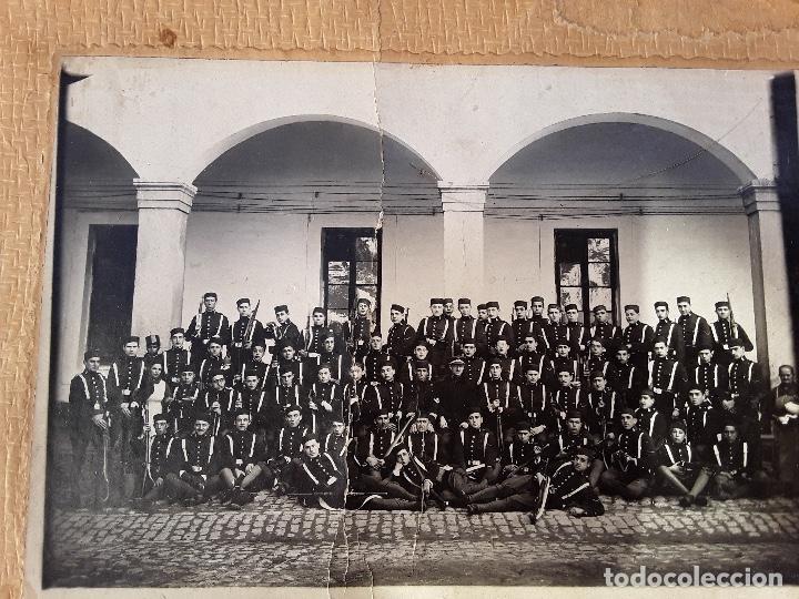 Militaria: ANTIGUO GORRILLO PANADERO DE ALFONSO XIII,INTERIOR FORRO DE CUERO,ORIGINAL,GUERRA AFRICA - Foto 28 - 195366707