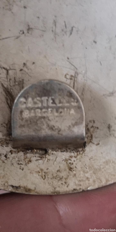 Militaria: Antigua hebilla de gala Policía Municipal Castell creo que es del Ayuntamiento de Barcelona - Foto 3 - 195368427