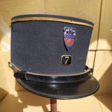 Militaria: KEPI GERDARMERIA DE PARIS AÑOS 60. Lote 195387427