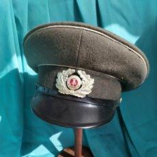 Militaria: GORRA ALEMANA RDA-NVA. Lote 195387748