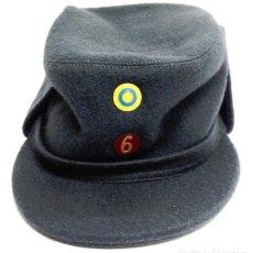 Militaria: SWEDISH AIR FORCE BLUE WOOL LINED WINTER HAT CAP. Lote 195479961