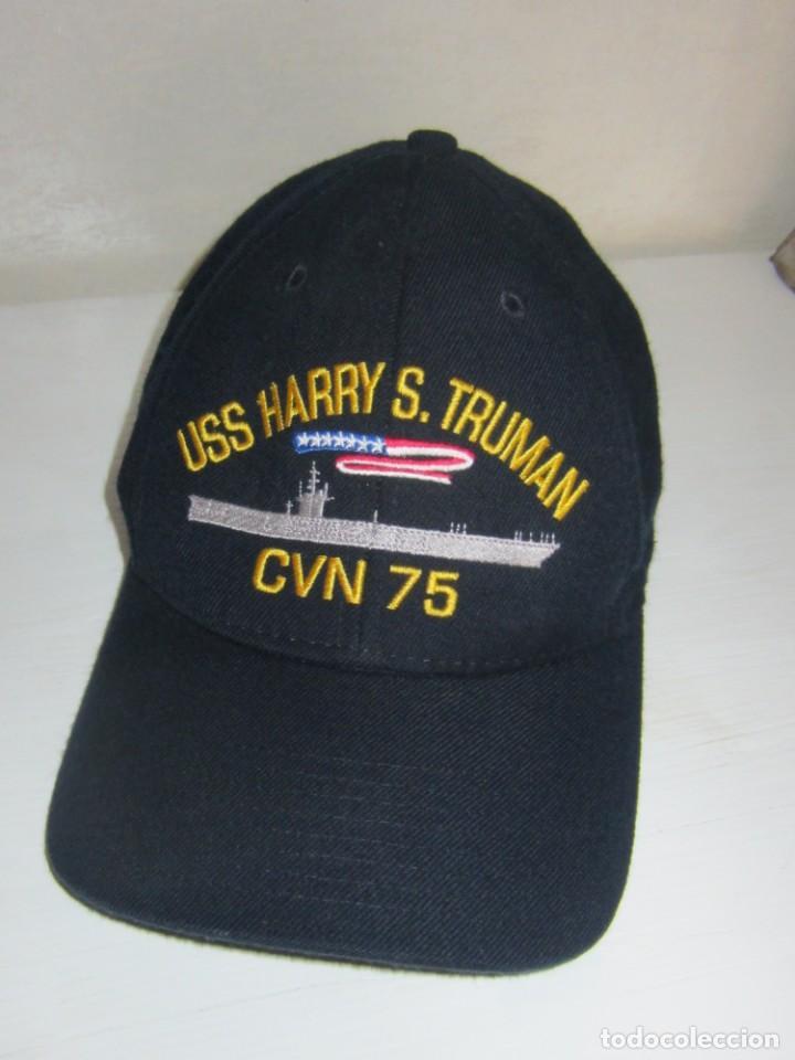 GORRA USS HARRY S. TRUMAN CVN 75 . ORIGINAL. (Militar - Boinas y Gorras )