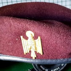 Militaria: BOINA POLICÍA NACIONAL. ÉPOCA TRANSICIÓN.. Lote 195498403