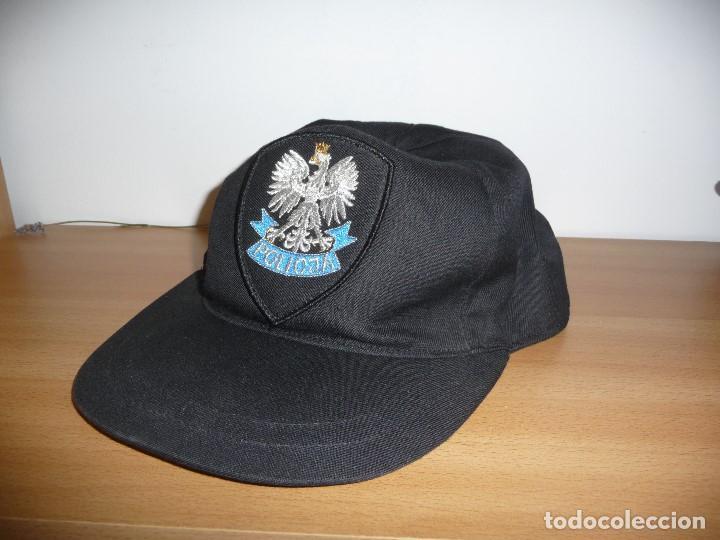 GORRA POLICIA POLONIA (Militar - Boinas y Gorras )