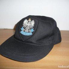 Militaria: GORRA POLICIA POLONIA. Lote 195502017