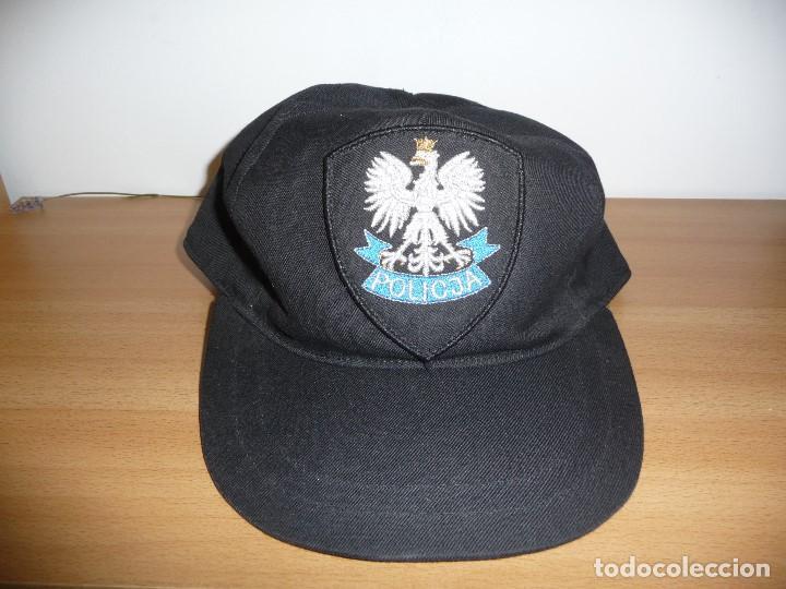 Militaria: Gorra policia polonia - Foto 2 - 195502017