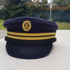 Militaria: GORRA MODELO CAPITÁN HADDOCK TALLA 59 Y OTRAS. Lote 193791355