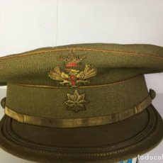 Militaria: GORRA DE COMANDANTE EJERCITO DE TIERRA ESPAÑOL. Lote 196214033