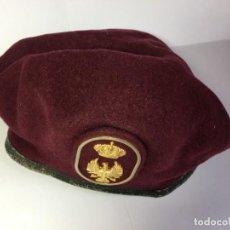 Militaria: GORRA BOINA MILITAR EJERCITO DE TIERRA ESPAÑOL ELOSEGUI TALLA 55. Lote 196220917
