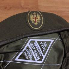 Militaria: BOINA TALLA 55. EJÉRCITO DE TIERRA. SUPERLUJO IMPERMEABLE.. Lote 196382701
