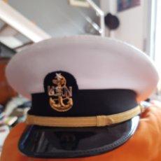 Militaria: GORRA USN. TALLA 58. FABRICANTE BANCROFT. OFICIAL DE LA MARINA.. Lote 197089860