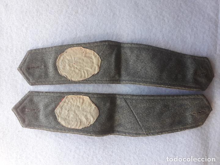 Militaria: Hombreras antiguas del Ejercito Español. Bordadas. - Foto 4 - 197419785