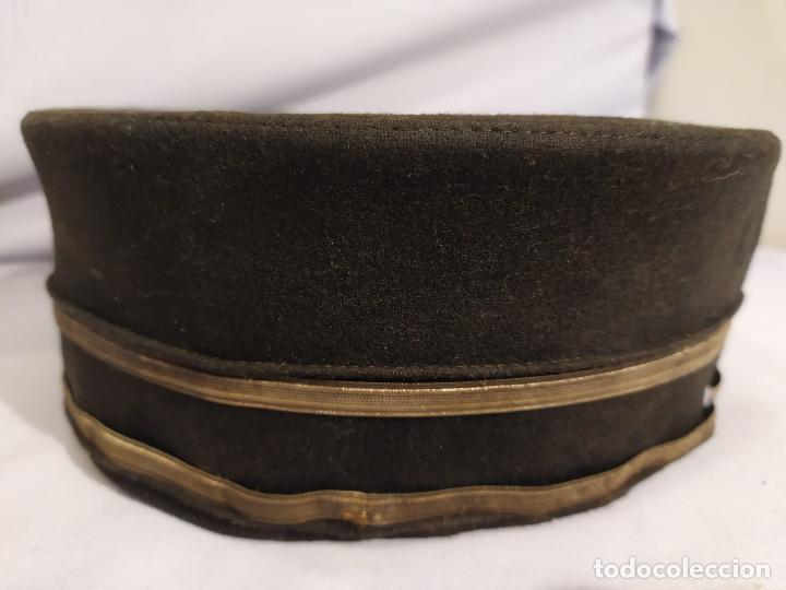 Militaria: USA - PILLBOX HAT - c.1884 - ACOMODADOR TEATRO / BOTONES HOTEL ? - Foto 28 - 197475116