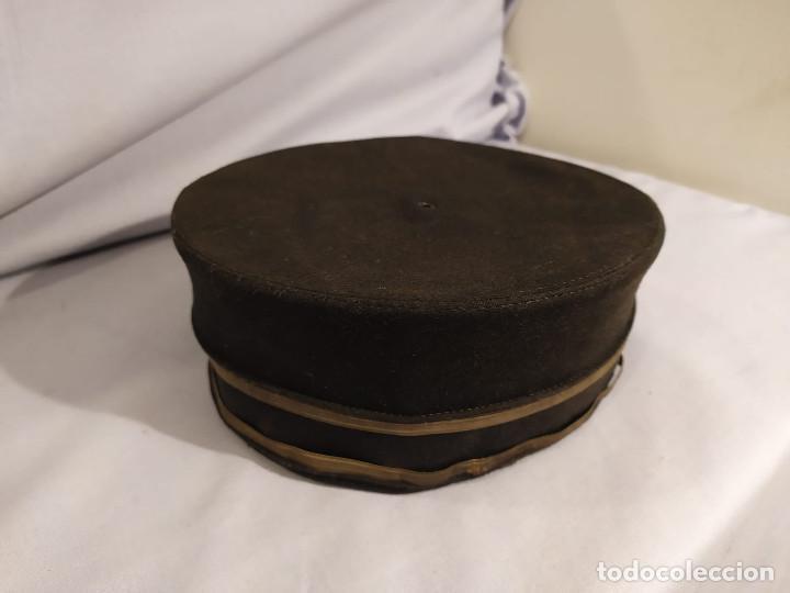 Militaria: USA - PILLBOX HAT - c.1884 - ACOMODADOR TEATRO / BOTONES HOTEL ? - Foto 2 - 197475116