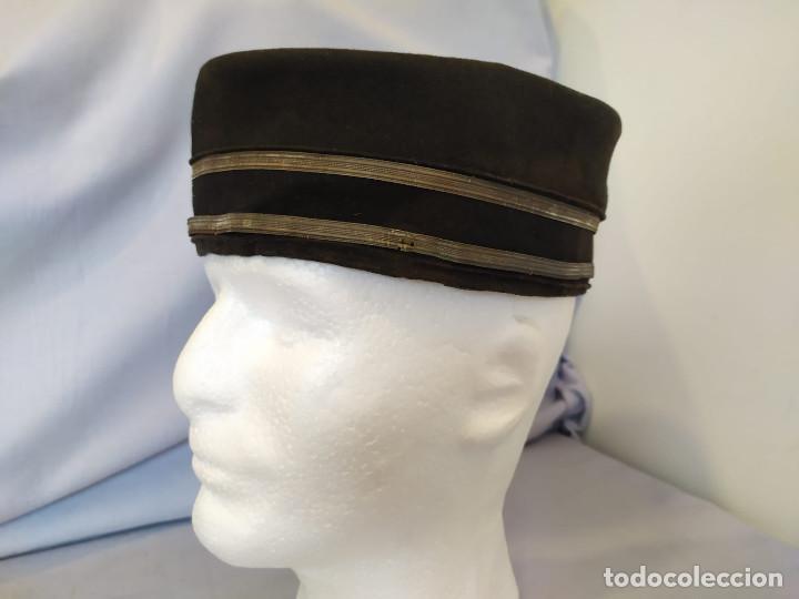 Militaria: USA - PILLBOX HAT - c.1884 - ACOMODADOR TEATRO / BOTONES HOTEL ? - Foto 12 - 197475116
