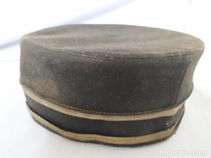 Militaria: USA - PILLBOX HAT - c.1884 - ACOMODADOR TEATRO / BOTONES HOTEL ? - Foto 21 - 197475116