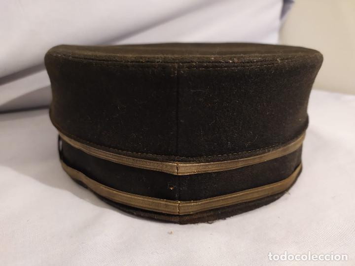 Militaria: USA - PILLBOX HAT - c.1884 - ACOMODADOR TEATRO / BOTONES HOTEL ? - Foto 22 - 197475116