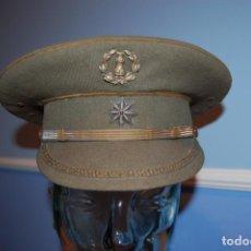 Militaria: GORRA PLATO GUERRA CIVIL , COMANDANTE INGENIEROS. Lote 197672380