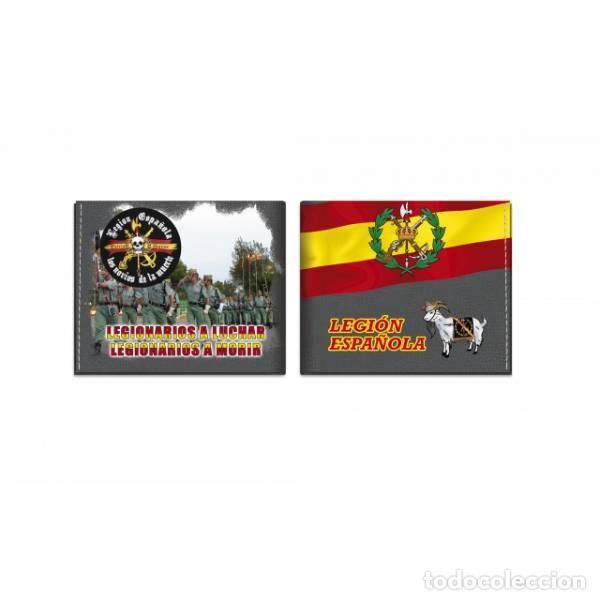 CARTERA MULTICOLOR DE LA LEGION ESPAÑOLA (Militar - Otros relacionados con uniformes )