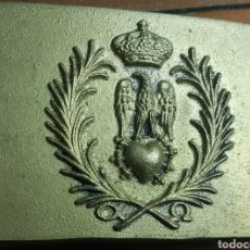 Militaria: GRAN HEBILLA BRONCE RECREACION GUERRA INDEPENDENCIA W. Lote 198367693
